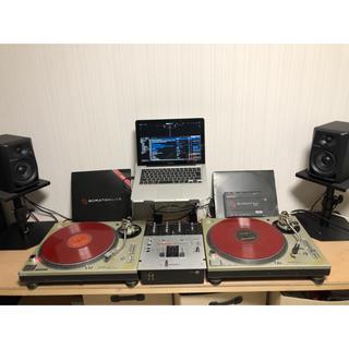 TechnicsターンテーブルMK5、スクラッチライブ、モニタースピーカーセット(ターンテーブル)