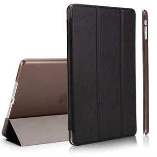 iPad mini4 ブラック 薄型 スリム 手帳型ケース