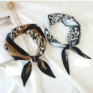 ザラ(ZARA)の~新品 レオパード スカーフ ~ヒョウ柄(バンダナ/スカーフ)