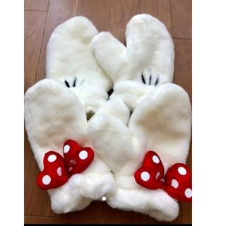 ディズニー(Disney)のミッキーミニー ペア手袋*(手袋)