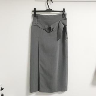 HARE ラップ風 タイトスカート