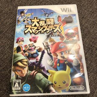ウィー(Wii)の大乱闘スマッシュブラザーズ エックス wii(家庭用ゲームソフト)