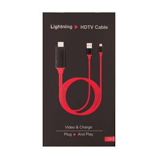 Lightning digital HDMI AVアダプタケーブル 新品未使用(映像用ケーブル)