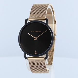 新品 ポールヒューイット 腕時計 レディース PH-M-B-BS-4S 黒文字盤(腕時計)