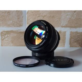 ニコン(Nikon)のNikon Nikkor ai 50mm F1.2 Nikon フィルター付き(レンズ(単焦点))