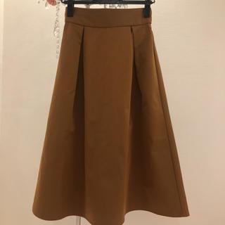 ジーユー(GU)の美品 GUフレアロングスカート(ロングスカート)