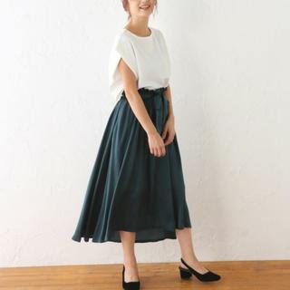 アバンリリー(Avan Lily)のavan lily♡ スカート 緑♡ マウジー スライ シェルター(ロングスカート)