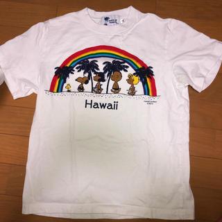 スヌーピー(SNOOPY)の日焼けSNOOPY  ティシャツ(Tシャツ(半袖/袖なし))