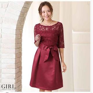 ガール(GIRL)の結婚式♡ドレス♡二次会♡パーティー♡ワンピース(ミディアムドレス)