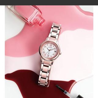 シチズン(CITIZEN)のクロスシーさくらピンク(腕時計)