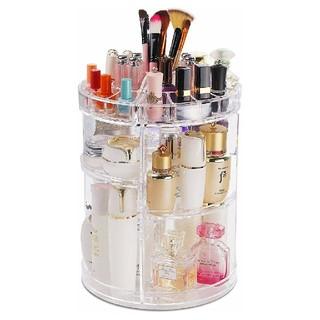 化粧品収納ボックス♡コスメボックス♡360度回転化粧品収納ラック