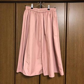 ジーユー(GU)の引っ越し処分セール!gu スカート ピンク(ひざ丈スカート)