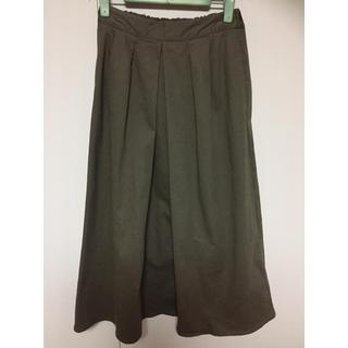 ジーユー(GU)のGU チノ マキシスカート(ロングスカート)