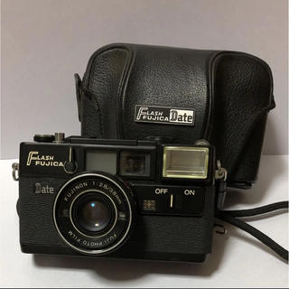 フジフイルム(富士フイルム)の富士フイルム FLASH FUJICA DATE ケース付(フィルムカメラ)