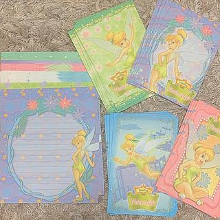 ディズニー(Disney)のティンカーベル レターセット(カード/レター/ラッピング)