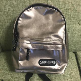 アウトドアプロダクツ(OUTDOOR PRODUCTS)の美品 OUTDOOR エナメル ゴールド リュック(リュック/バックパック)