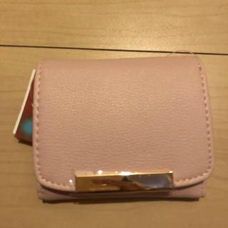 シマムラ(しまむら)のピンク財布 タグ付き未使用(財布)