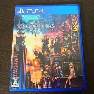 スクウェアエニックス(SQUARE ENIX)の【ほぼ新品】PS4 キングダムハーツ 3 KINGDOM HEARTS Ⅲ(家庭用ゲームソフト)