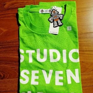 STUDIO SEVEN×GUコラボ ヘビーウェイトビッグT グリーン ナオト