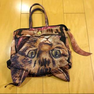 アチャチュムムチャチャ(AHCAHCUM.muchacha)のムチャチャ↔︎あちゃちゅむ 猫バッグ 美品(ハンドバッグ)