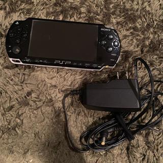 ソニー(SONY)のpsp 本体、充電器(携帯用ゲーム本体)