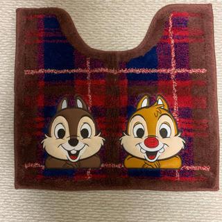 ディズニー(Disney)のチップ&デイル トイレマット(トイレマット)