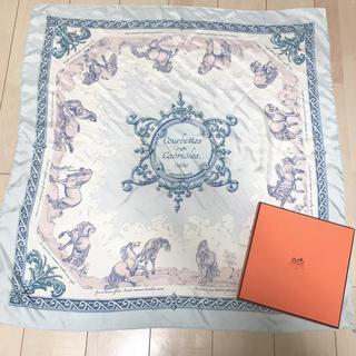 エルメス(Hermes)のHERMES エルメス スカーフ カレ 90(スカーフ)