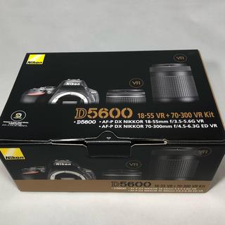 Nikon - 新品未使用 Nikon ニコン D5600 ダブルズームキット メーカー保証付き