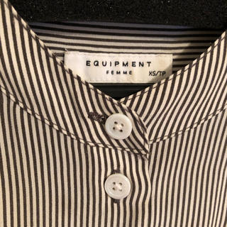 エキプモン(Equipment)のEQUIPMENT  シャツ XS(シャツ/ブラウス(長袖/七分))