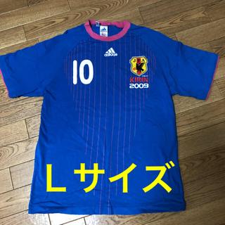 アディダス(adidas)の日本代表キリンチャレンジカップレア2009ユニフォーム(サッカー)