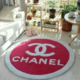 シャネル(CHANEL)のCHANEL シャネル 丸型カーペット(カーペット)