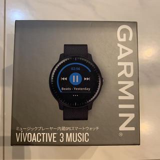 ガーミン(GARMIN)のGARMIN ミュージックプレーヤー内蔵gpsスマートウォッチ(腕時計(デジタル))