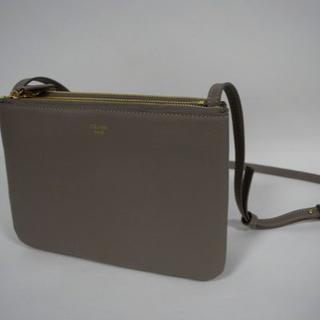 6d80c3e7c05b セリーヌ トリオ ショルダーバッグ(レディース)(グレー/灰色系)の通販 ...