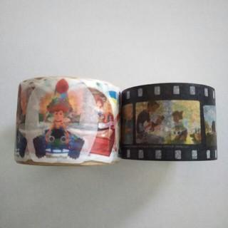 ディズニー(Disney)のマスキングテープ ステッカーシール セット (テープ/マスキングテープ)