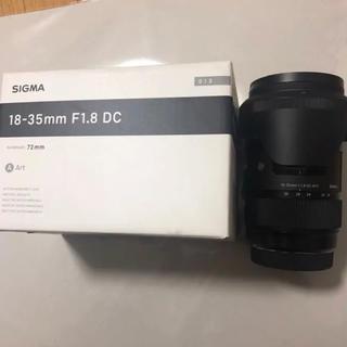 SIGMA - 新品に近い】sigma 18-35mm f1.8 DC HSM Art キャノン