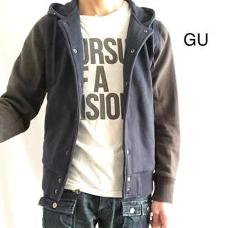 GU - GU ジーユー スウェットスタジャン