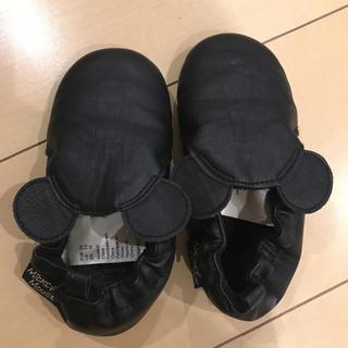 エイチアンドエム(H&M)のH&M ディズニーミッキースリッパ ルームシューズEUR24サイズ14.8cm(スリッパ)