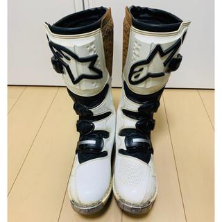 Zzzz様専用☆    アルパインスターズのモトクロスブーツ (US9)(モトクロス用品)