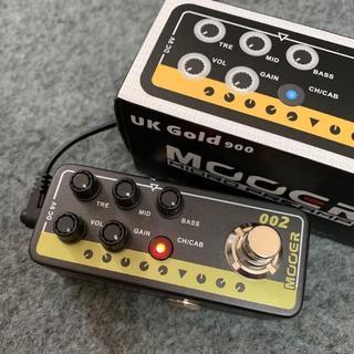 MOOER MICRO PREAMP 002 UK Gold 900(エフェクター)