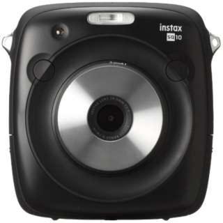 フジフイルム(富士フイルム)のSQ10 チェキカメラ instax SQUARE ブラック(フィルムカメラ)