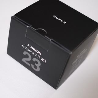 フジフイルム(富士フイルム)の富士フィルム xf23mm f2 R WR 新品(レンズ(単焦点))