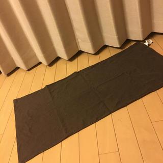 ムジルシリョウヒン(MUJI (無印良品))の無印良品  枕カバー ブラウン(シーツ/カバー)