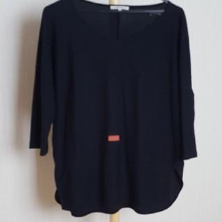 ニジュウサンク(23区)の23区Vネック七分丈Tシャツ38(Tシャツ(長袖/七分))