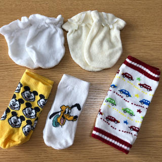 ディズニー(Disney)のベビー 出産準備 セット(靴下/タイツ)