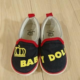 ベビードール(BABYDOLL)の14.0センチ ベビードール  靴 スリッポン ベビー(スリッポン)