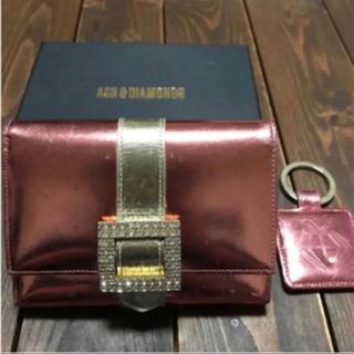 アッシュアンドダイアモンド(ASH&DIAMONDS)の★ アッシュダイヤモンド  財布&キーホルダー  ピンク(財布)