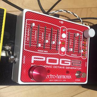 ボス(BOSS)のelectro harmonix POG2 美品 オクターバー (エフェクター)