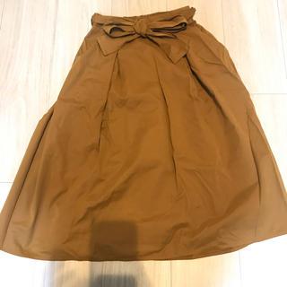 ジーユー(GU)のスカート GU(ひざ丈スカート)