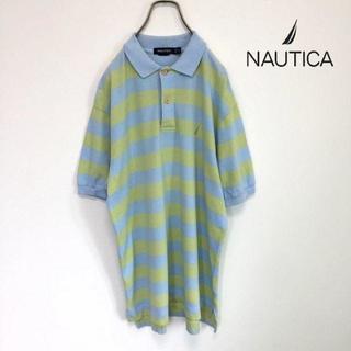 ノーティカ(NAUTICA)の NAUTICA ノーティカ ボーダー ポロシャツ(ポロシャツ)