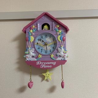 スイマー(SWIMMER)のスイマー ユニコーン 掛け時計(掛時計/柱時計)
